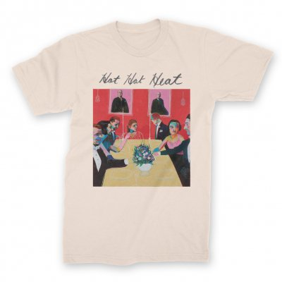 hot-hot-heat - Album Cover T-Shirt (Natural)
