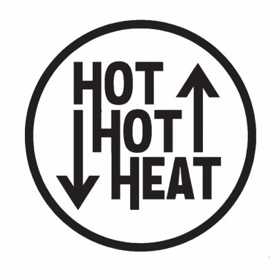 "hot-hot-heat - Logo Enamel Pin (1"")"
