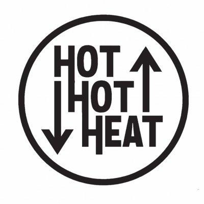 "hot-hot-heat - Logo Enamel Pin (1"")"