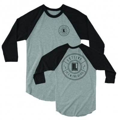 letlive - Cycle Raglan (Black/Heather)