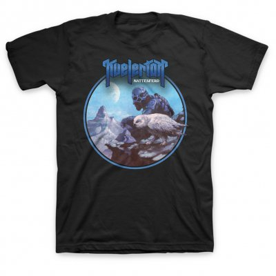 valhalla - Nattesferd Album T-Shirt (Black)