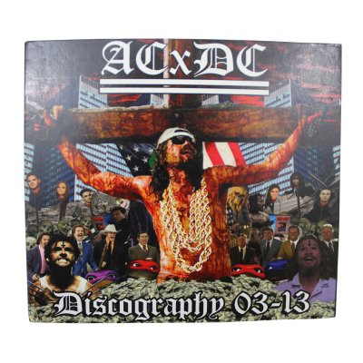 acxdc - Discography 03'-13' CD - Digi pak