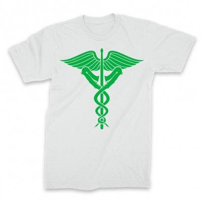 IMAGE | Jazz Dispensary Logo T-Shirt (White)