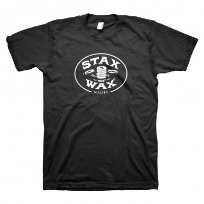 stax-of-wax - Stax of Wax Logo T-Shirt (Black)