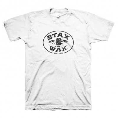stax-of-wax - Stax of Wax Logo T-Shirt (White)