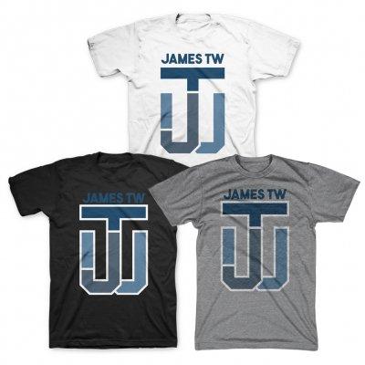 james-tw - JTW Initials Tee
