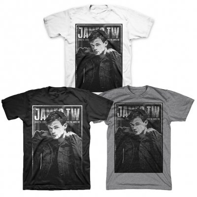 james-tw - James TW Collar Up Photo Tee