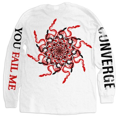 converge - You Fail Me Snakes Long Sleeve (White)