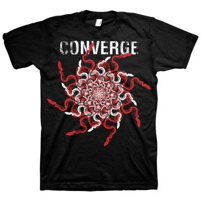 converge - Snakes Tee (Black)