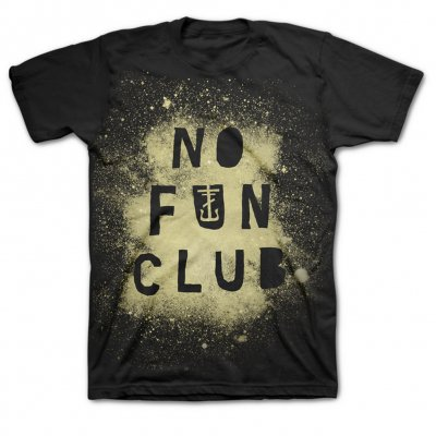 frank-iero - No Fun Club T-Shirt (Black)