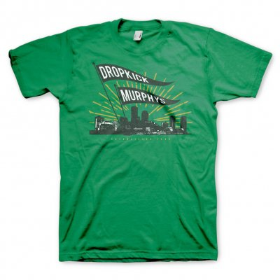 dropkick-murphys - Boston Flags Tee