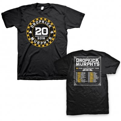 dropkick-murphys - Poker Chip Tour Tee (Black)