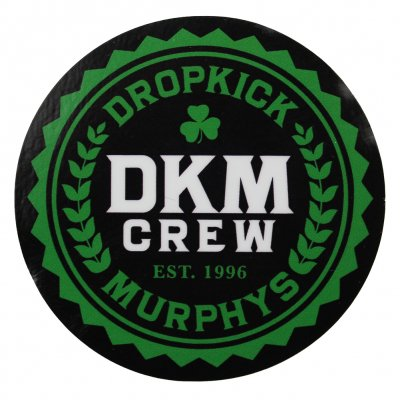 Dropkick murphys crew sticker