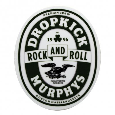 Dropkick murphys rock and roll sticker