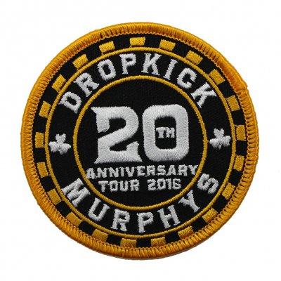 Dropkick Murphys - 20th Anniversary Poker Patch