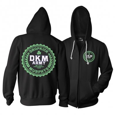 dropkick-murphys - Army Zip Up