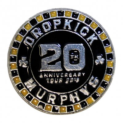 dropkick-murphys - 20 Poker Chip Enamel Pin
