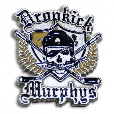 Dropkick Murphys - Hockey Skull Enamel Pin