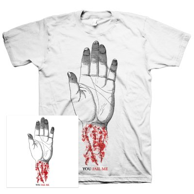 Converge - You Fail Me (Redux) CD + You Fail Me Tee Bundle