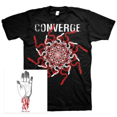 converge - You Fail Me (Redux) CD + Snakes Tee Bundle