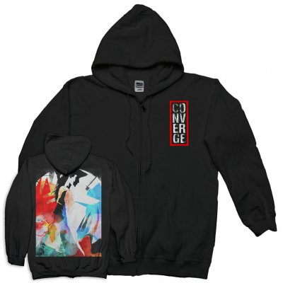 converge - Wreckage Zip Up (Black)