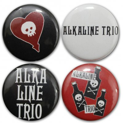 alkaline-trio - 2016 4-Button Pack
