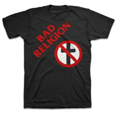 "bad-religion - Original 7"" Crossbuster Tee (Black)"