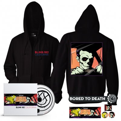 Blink 182 - California CD + Zip Up Bundle
