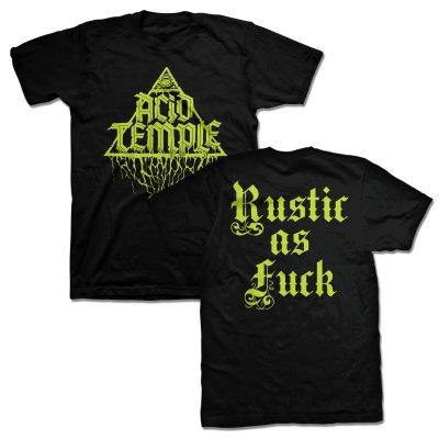 TRVE Brewing Company - Acid Temple - Rustic As Fuck T-Shirt (Black)
