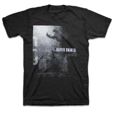 Silver Snakes - Warzone T-Shirt (Black)