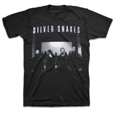 Silver Snakes - Band Photo T-Shirt (Black)