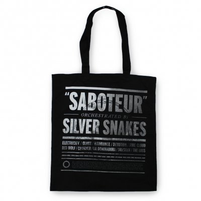Silver Snakes - Silver Snakes Tote Bag