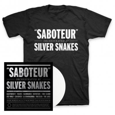 Silver Snakes - Saboteur LP + Tee Bundle