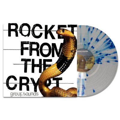 Rocket From The Crypt - Group Sounds LP (Blue Splatter)