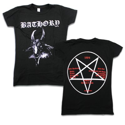 Bathory - Goat T-Shirt (Black) - Juniors