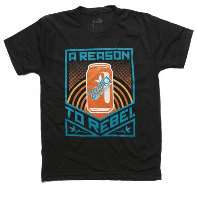 zevia - Reason To Rebel Tee - Men's