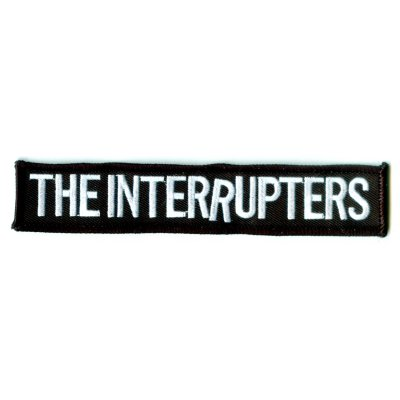 "the-interrupters - Embroidered Logo Patch (""1 x5.5"")"