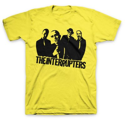Band Photo T-Shirt (Yellow)