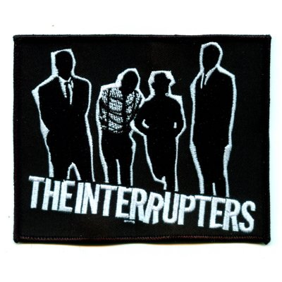 "the-interrupters - Silhouette Embroidered Patch (5"" x 4"")"