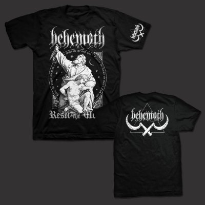 behemoth - Reset The World T-Shirt (Black)