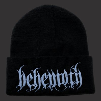 behemoth - Black Logo Beanie (Black)