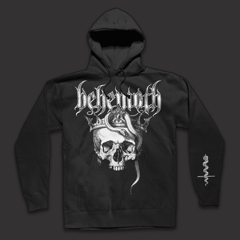 IMAGE   Skull Pullover Sweatshirt (Black)