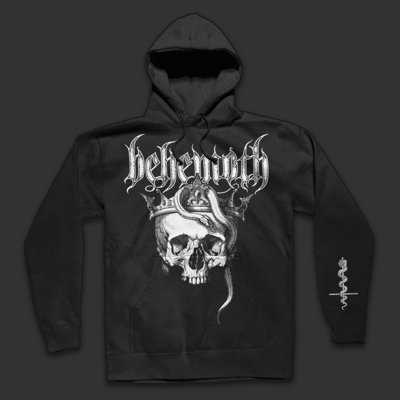 Skull Pullover Sweatshirt (Black)
