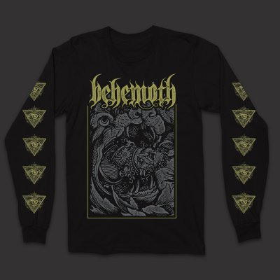 behemoth - Behemoth Devour Longsleeve T-Shirt (Black)