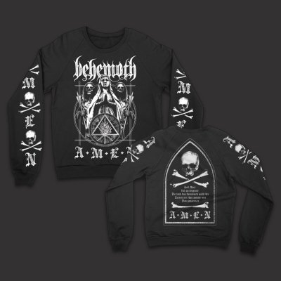 behemoth - Amen Crew Neck Sweatshirt (Black)