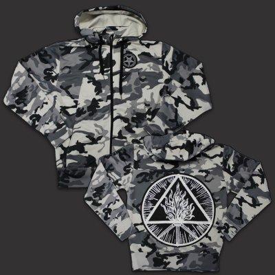 behemoth - Blackcraft Zip Up Sweatshirt (Winter Camo)