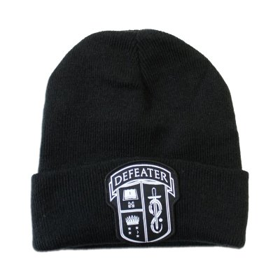 defeater - Shield Patch Beanie (Black)