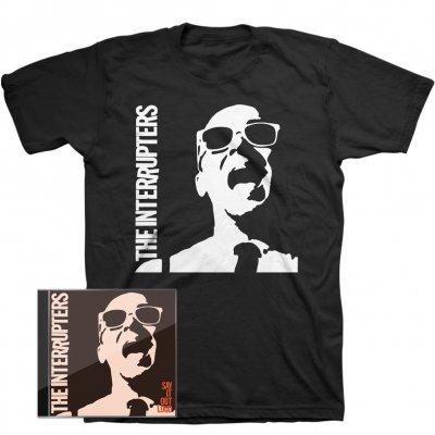 Say It Out Loud CD + Say It Out Loud T-Shirt Bundle