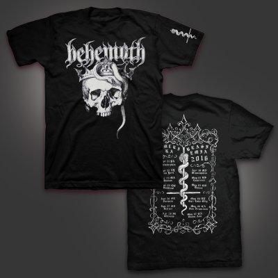 behemoth - Amerika Blasfemia 2016 Tour T-Shirt (Black)