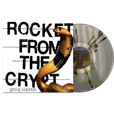 Rocket From The Crypt - Group Sounds LP (Clear/Yellow)